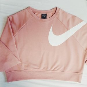 NWT Nike Dry Versa Long Sleeve Training Crop Top NWT